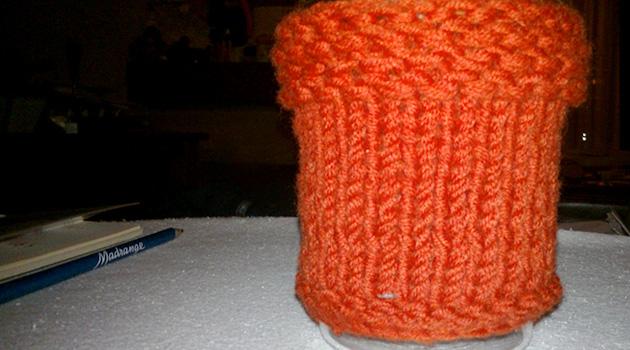 Le mini projet tricot qui dure 9 mois…