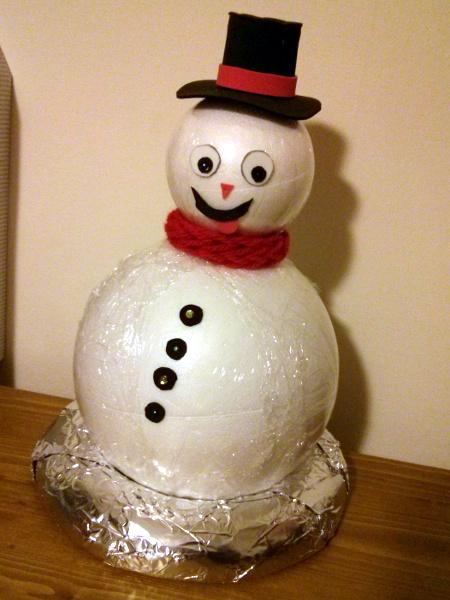 [DIY] Le bonhomme de neige pour l'apéritif