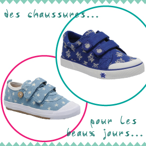 [Mode enfant] Des chaussures pour les beaux jours