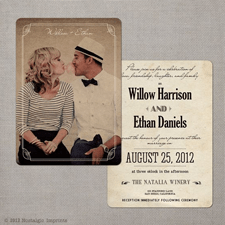 [Inspiration] Un mariage vintage