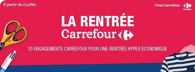 Préparer tranquillement sa liste de rentrée avec Carrefour [Sponso]