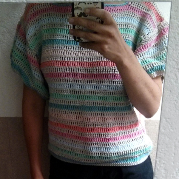 pull multicolore Phildar