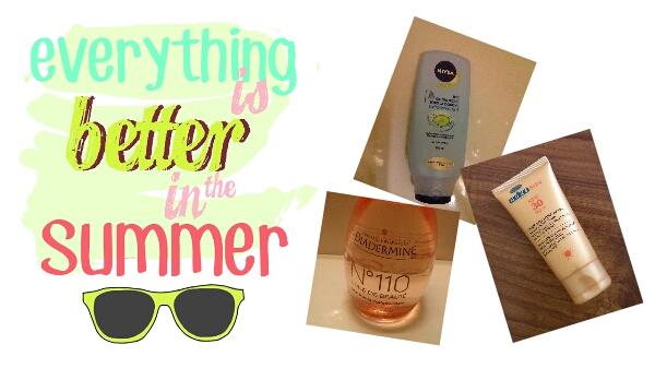 [Beauté] Les produits de mon été