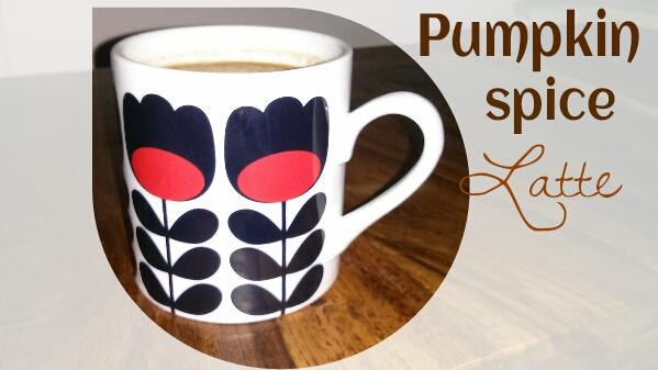 recette pumpkin spice latte