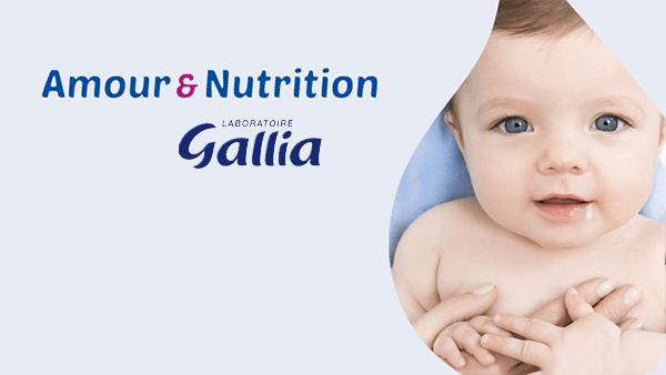 Amour et nutrition par Gallia #amouretnutrition