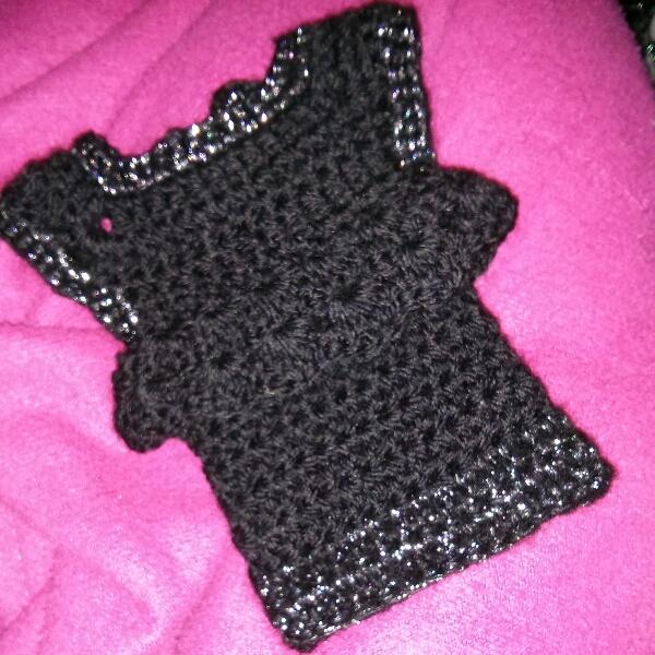 robe crochet chérie