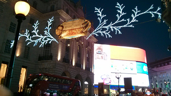 Picadilly Circus Noël