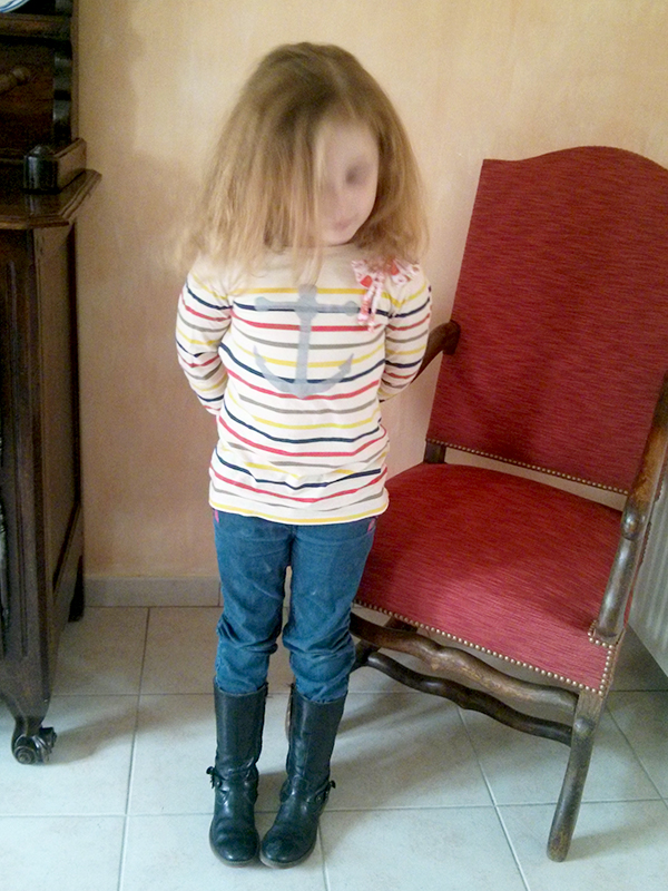 T-shirt Little Marcel - Jean DPAM - Bottes Romagnoli