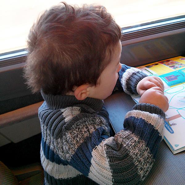 train avec enfant de 2 ans