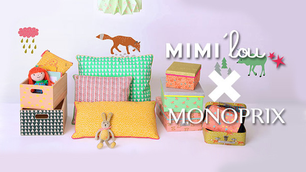 [Samedi shopping] MIMI'lou x Monoprix (+ codes promo)