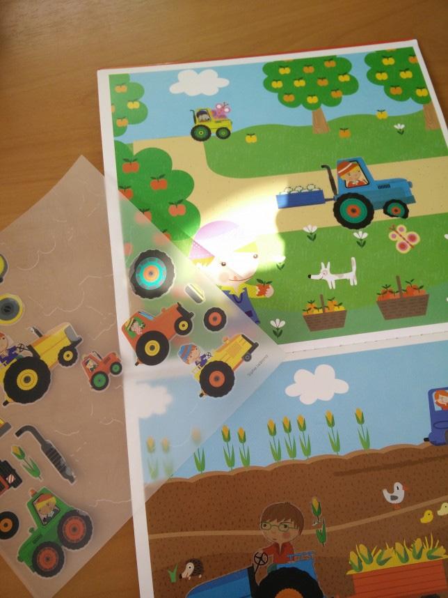 décalcomanies tracteurs