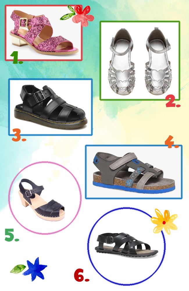 sélection sandales