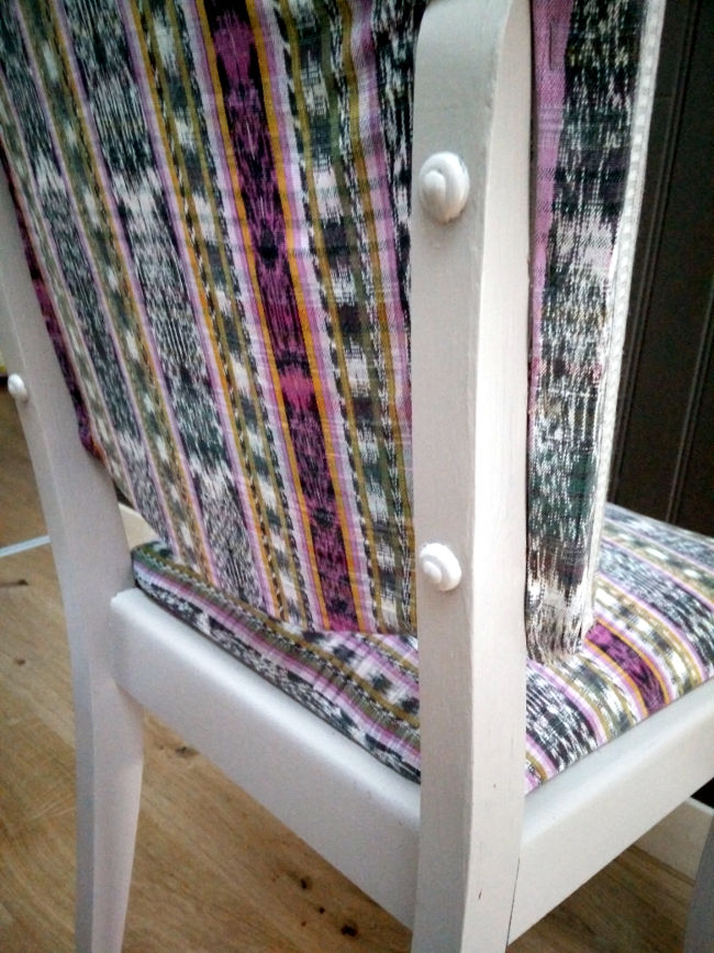 retaper chaise ancienne