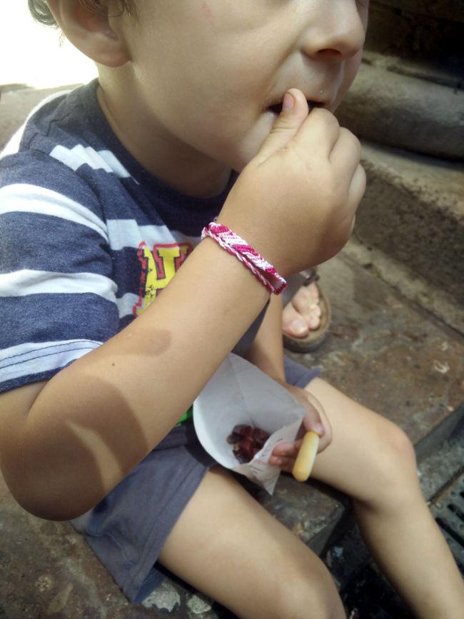 cornet de jambon ibérique