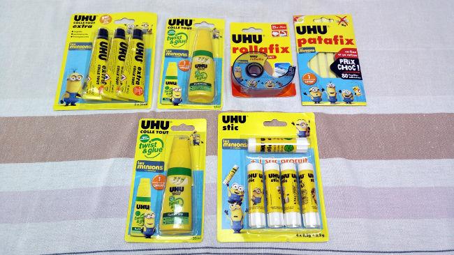 Prêts à tout coller avec Uhu et les Minions [Concours]