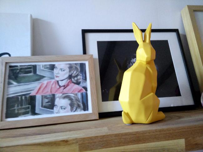lapin origami becquet