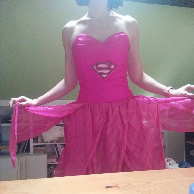 robe de super héroïne DIY