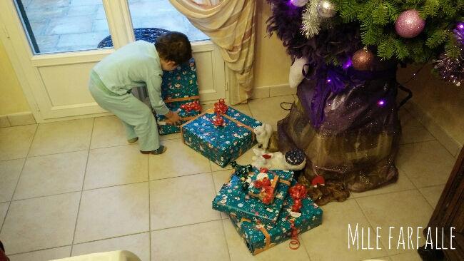 cadeaux au sapin