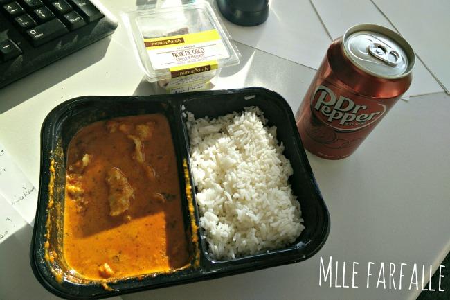 déjeuner Monoprix