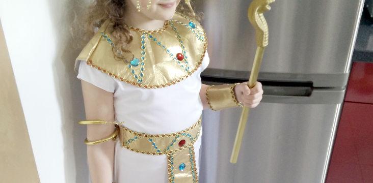 """""""Maman je voudrais un déguisement d'Égyptienne"""""""