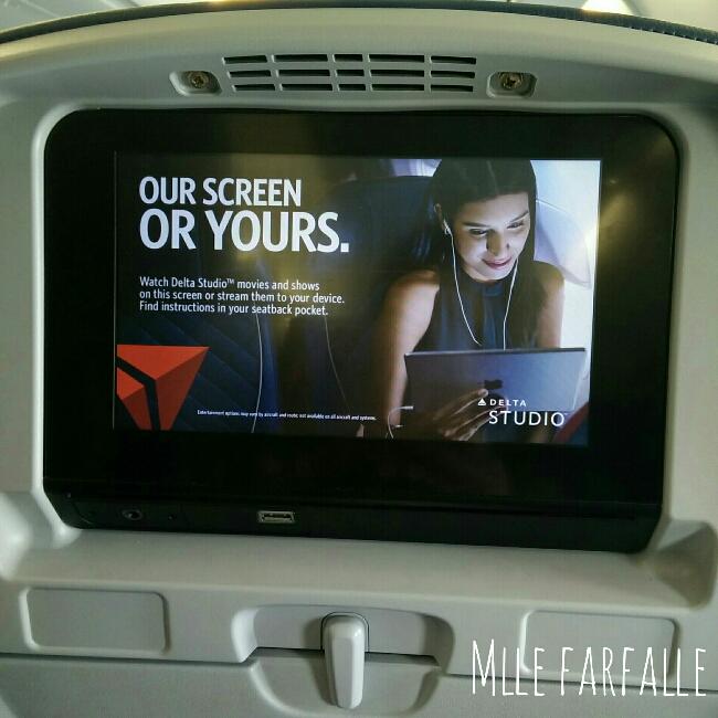 film dans l'avion Delta