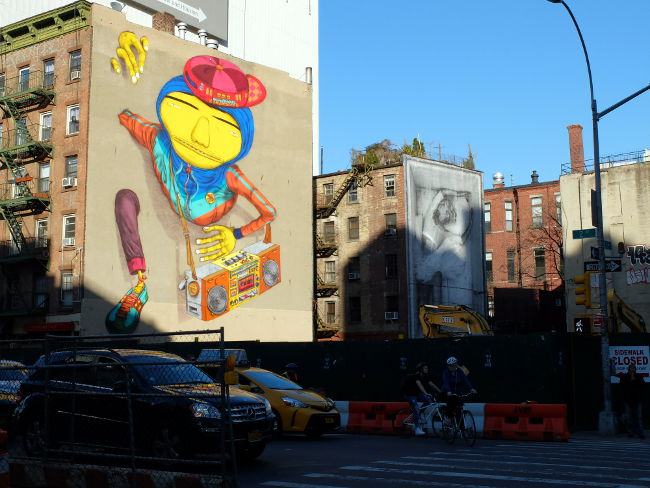 Fresque à Brooklyn