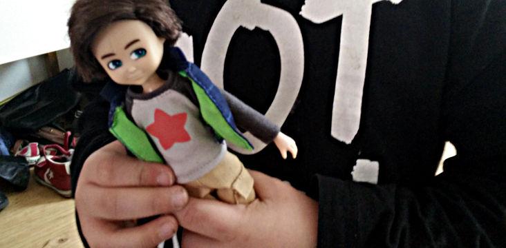 Mon immense coup de coeur pour la poupée Lottie