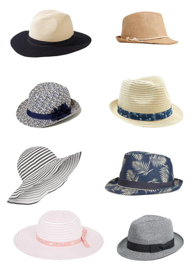 sélection chapeaux été