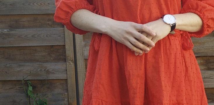 [Look] La robe rouge qui était orange
