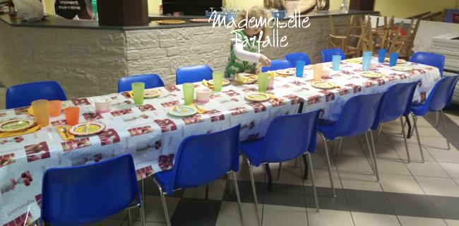 table de fête 8 ans