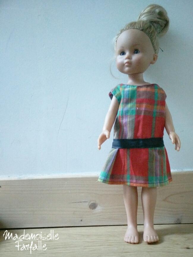 robe faite main pour poupée Corolle