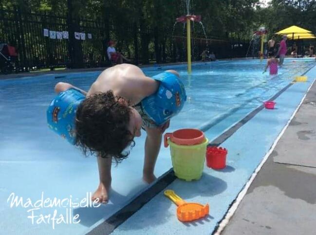 piscine parc laurier Montréal