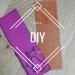 DIY facile marque-page brodé