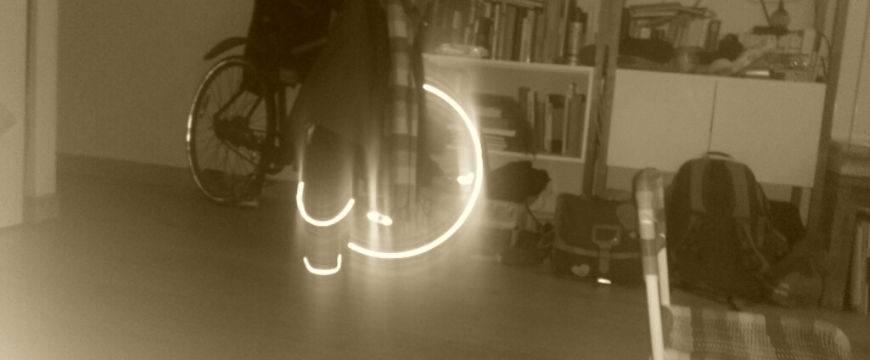 reflet du flash