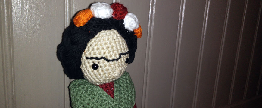 Ma Frida au crochet {AmourFouCrochet}