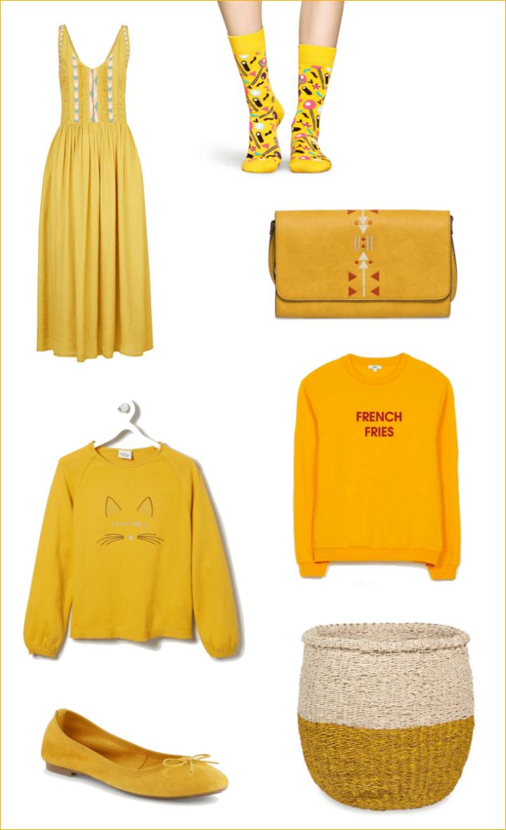 coloris moutarde