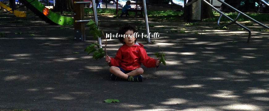 enfant qui médite