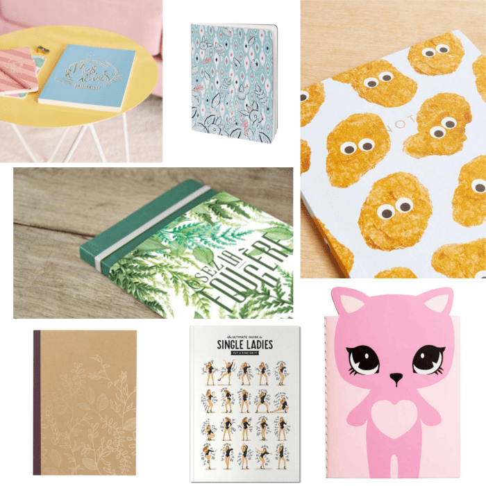 sélection shopping carnets