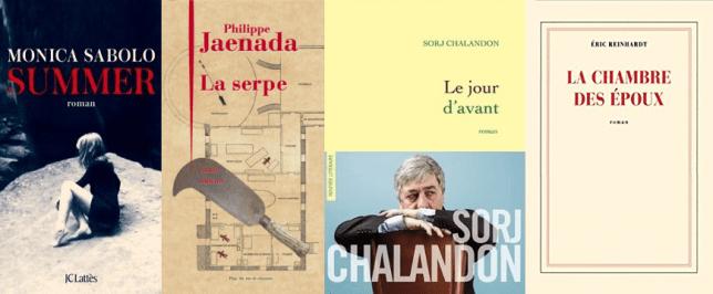 livres de la rentrée littéraire