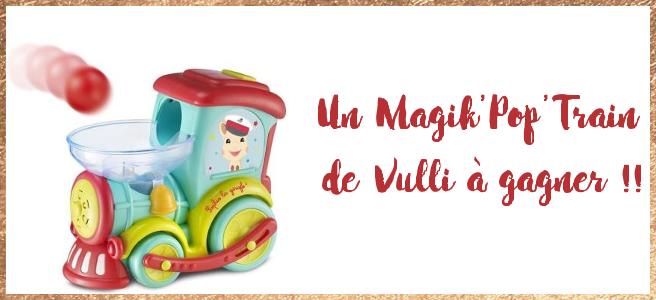 [Le calendrier de l'Avent des dindes] Le Magik'Pop'Train Sophie la Girafe !