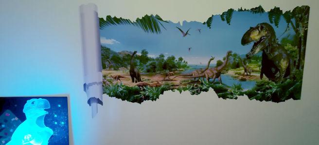 [Room tour] La chambre dinosaures de Raoul