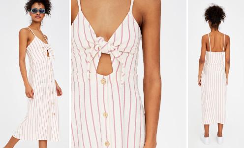 Mini-robe à bretelles