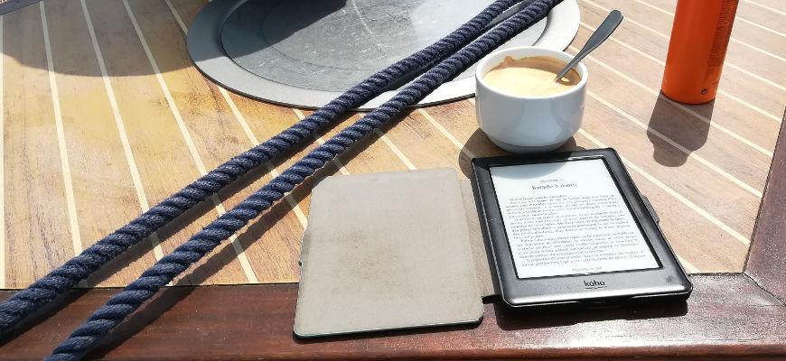 lire sur un bateau