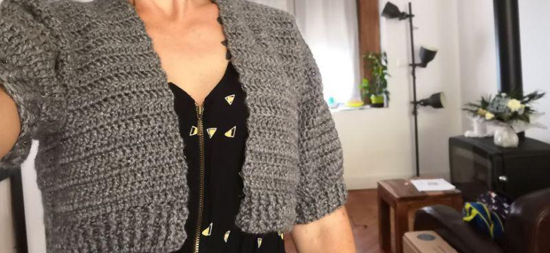 Tuto Gilet Au Crochet Mademoiselle Farfalle