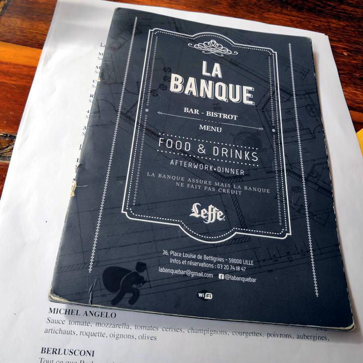 restaurant la banque lille