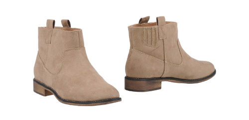 bottines only yoox beige