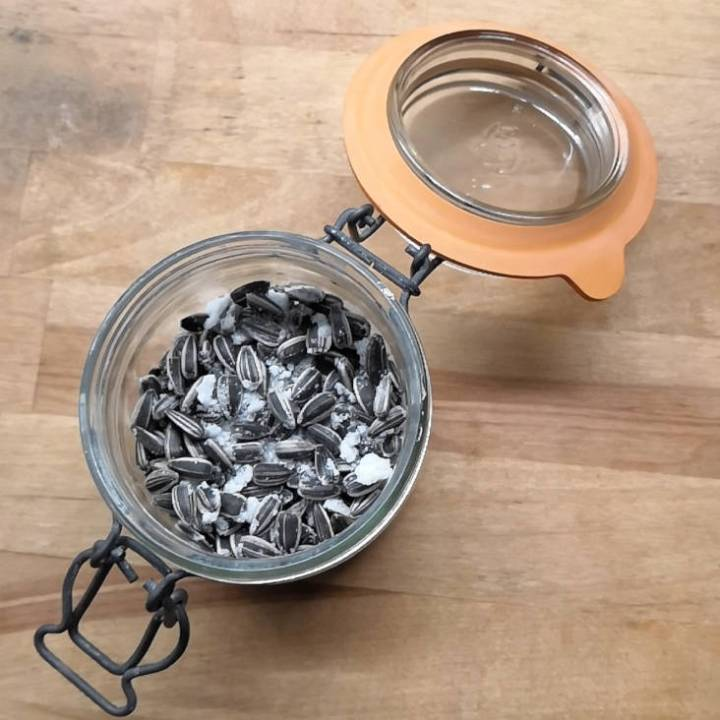 graines de tournesol grillées maison