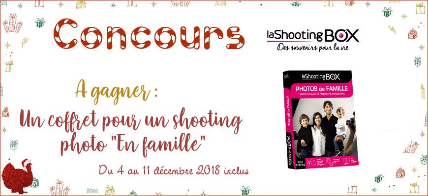 [Le sapin de Noël des dindes]  Une séance photo en famille avec la Shooting Box