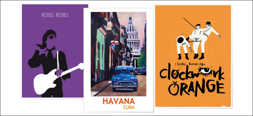 Nos voyages et nos films préférés sur nos murs avec Posterlounge [Concours terminé]