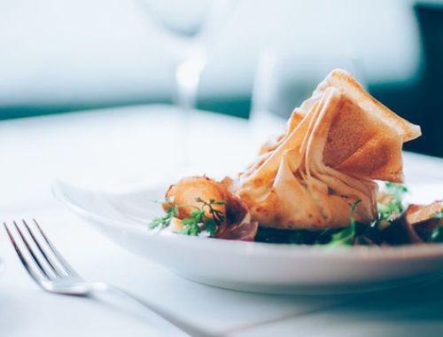 repas gastronomique à Lille